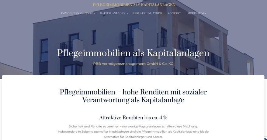 Pflegeimmobilien als Kapitalanlage